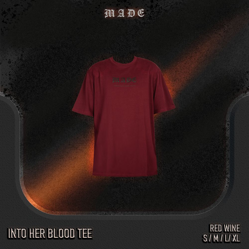 Into blood tee