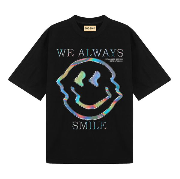 We Always Smile ( Black )