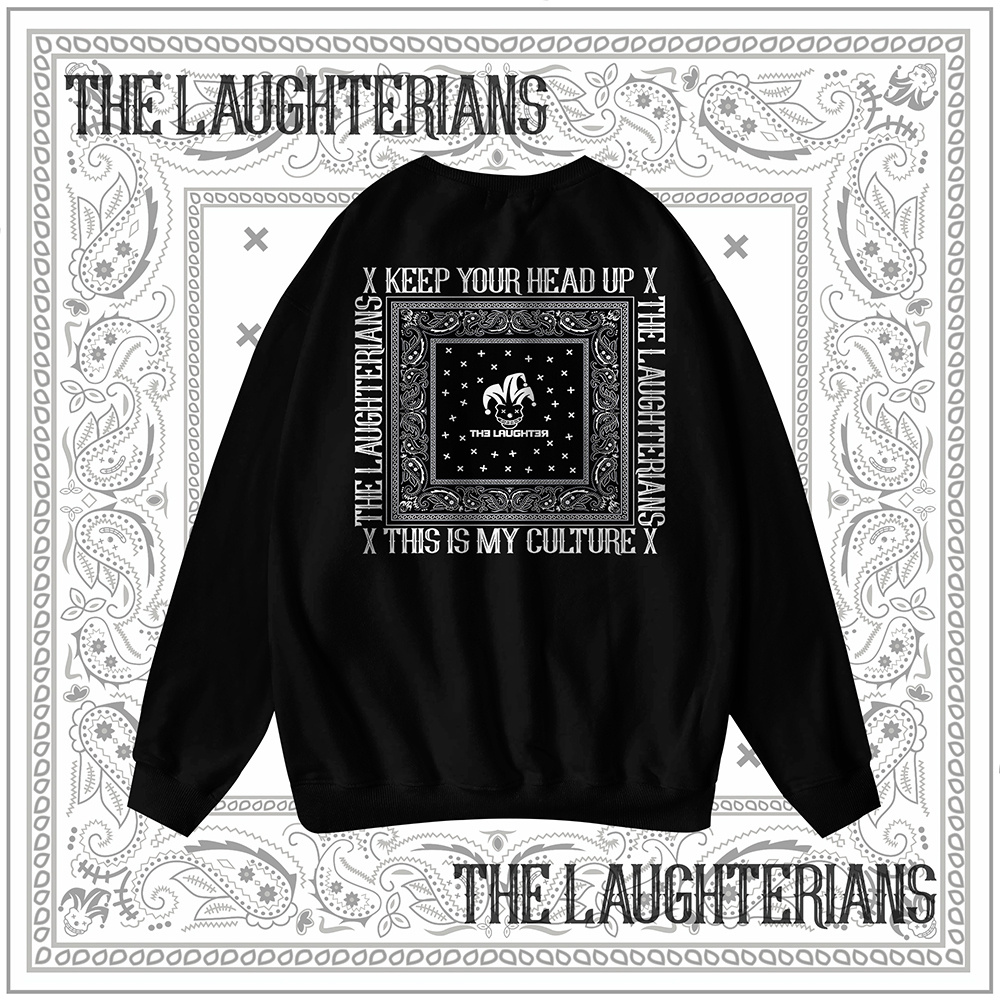 The Laughter - LAUGHTERIAN PATTERN Sweater
