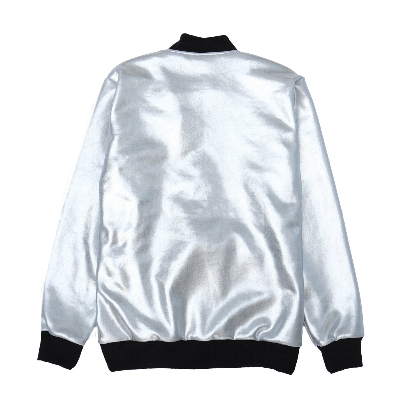 Bomber Jacket In Silver