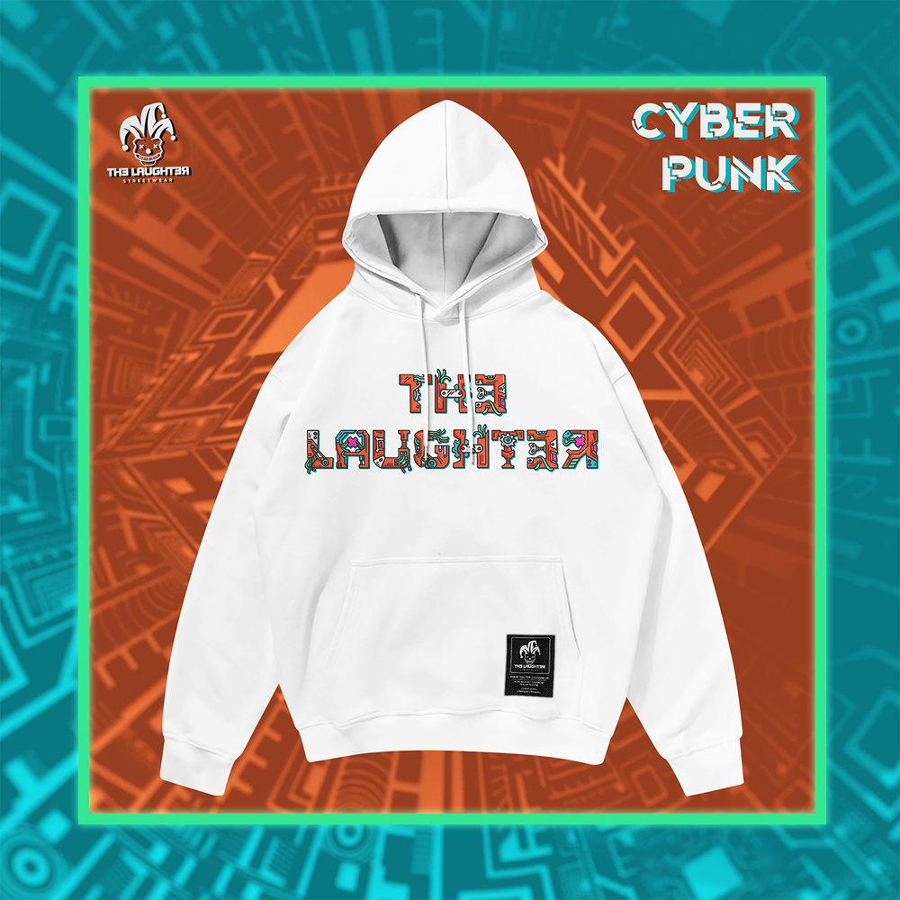 The Laughter - CYBERPUNK HOODIE