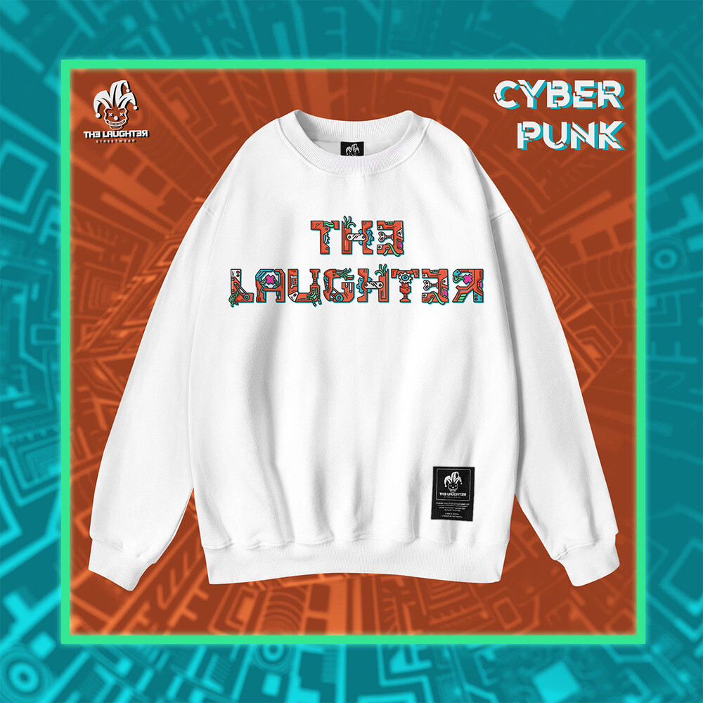 The Laughter - CYBERPUNK SWEATER