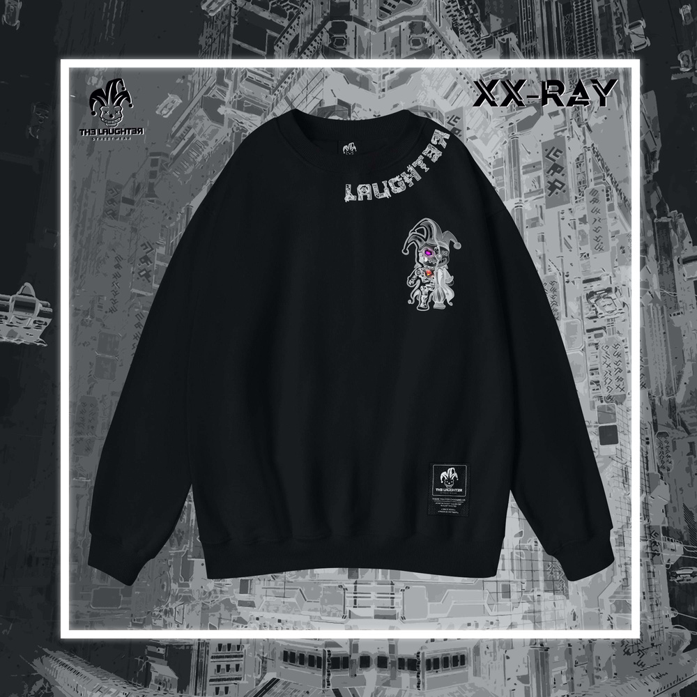 The Laughter - XX-RAY ÂM BẢN SWEATER