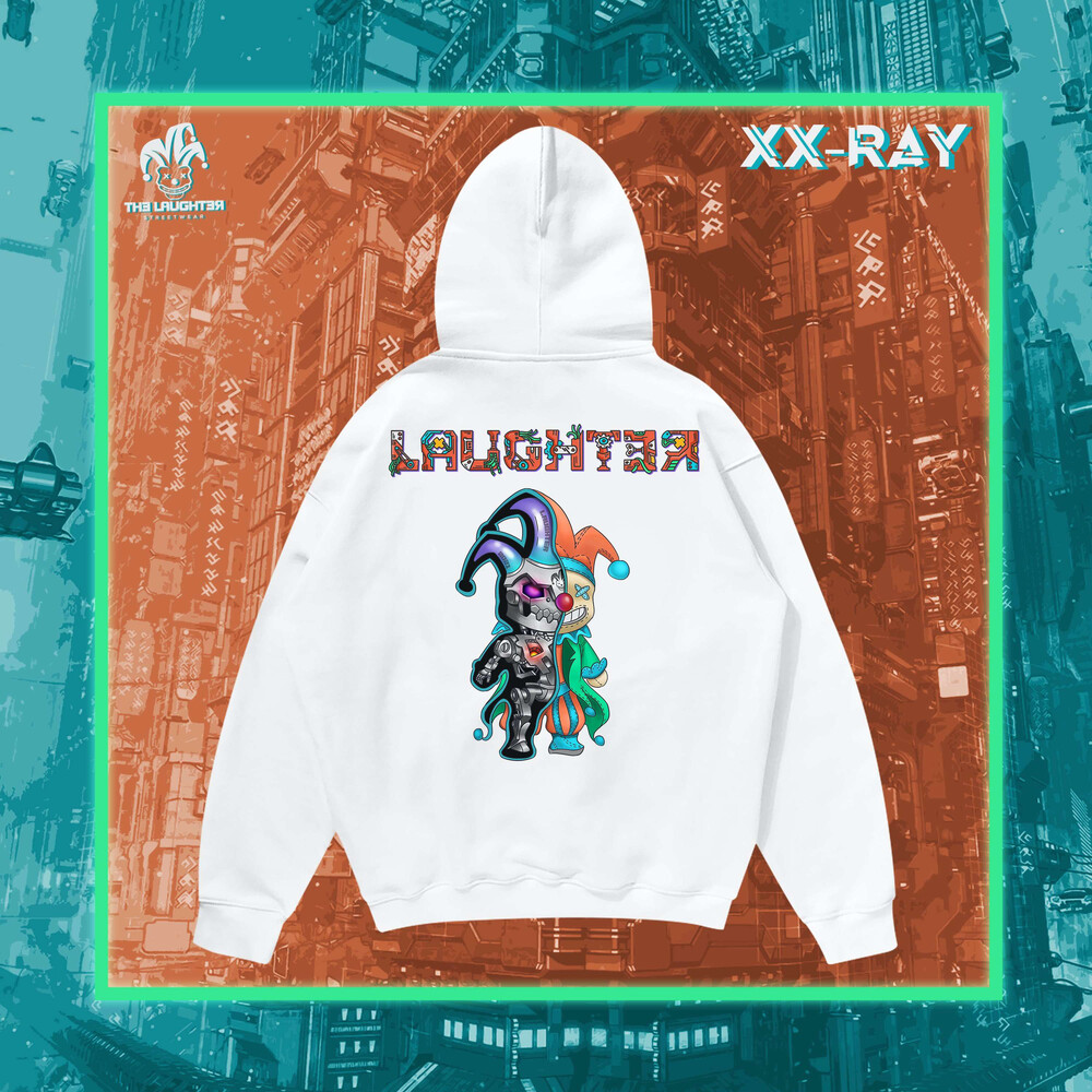 The Laughter -XX-RAY HOODIE