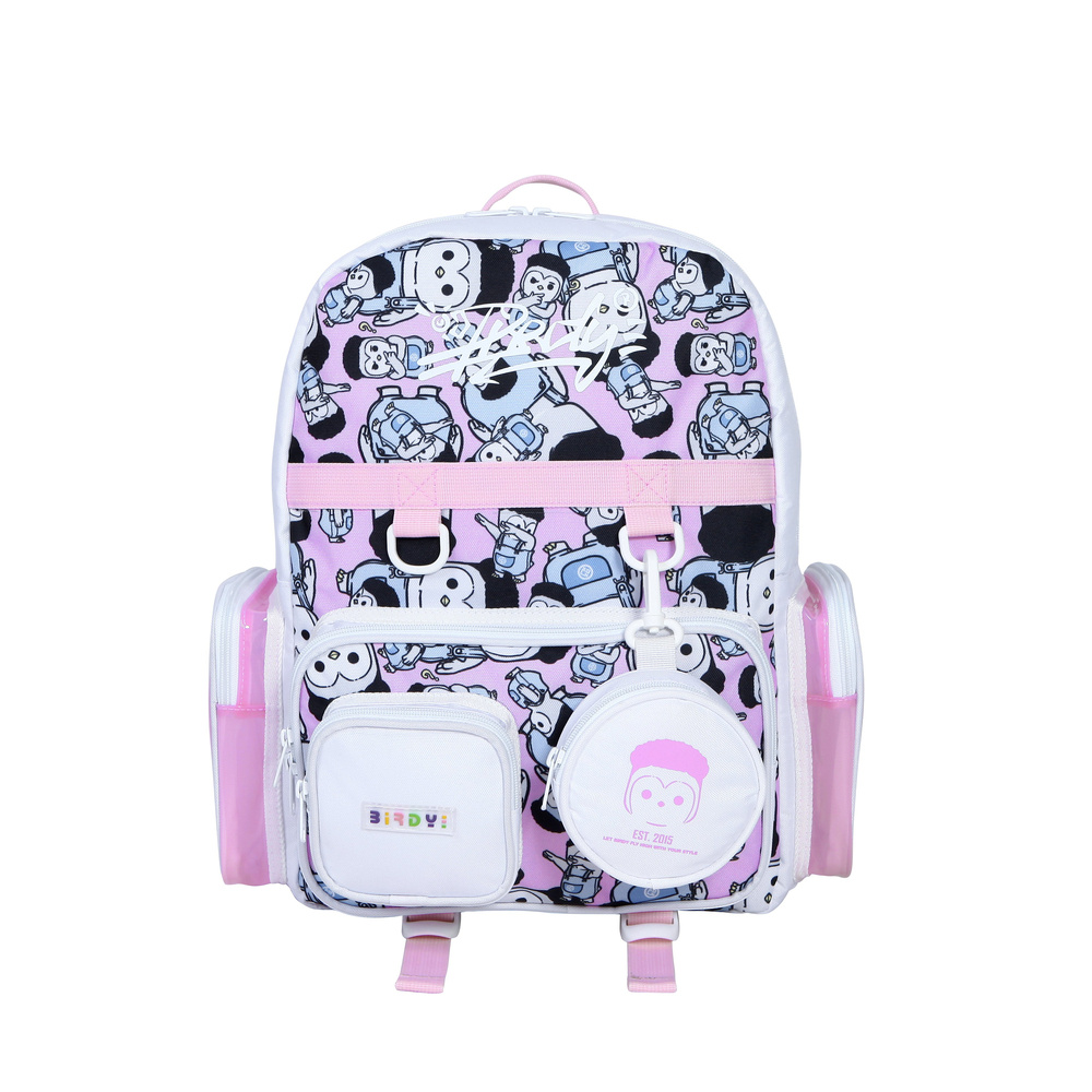 LUDO KING AVAILABLE BACKPACK - PINK