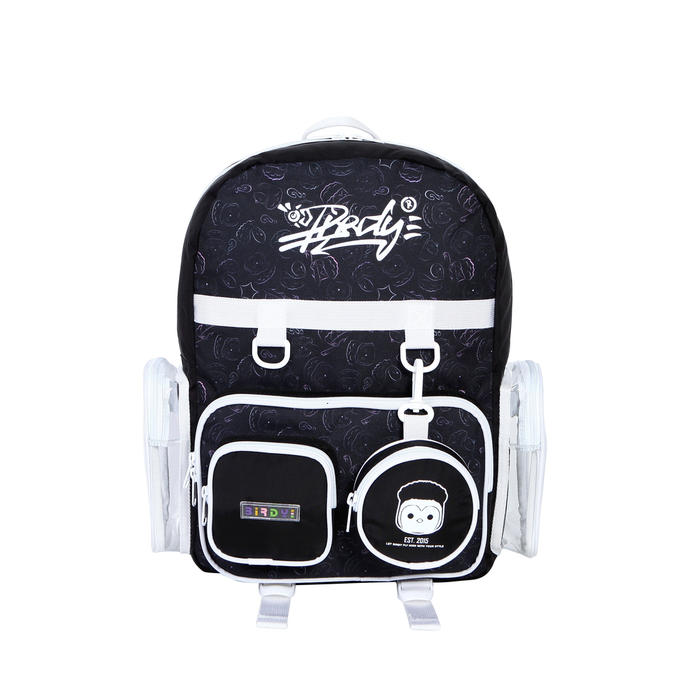 LUDO KING AVAILABLE BACKPACK –BLACK