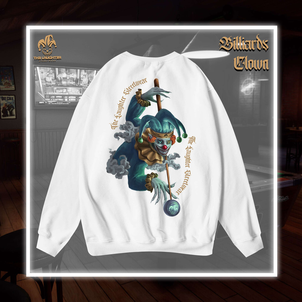 The Laughter - BILLIARDS CLOWN SWEATER