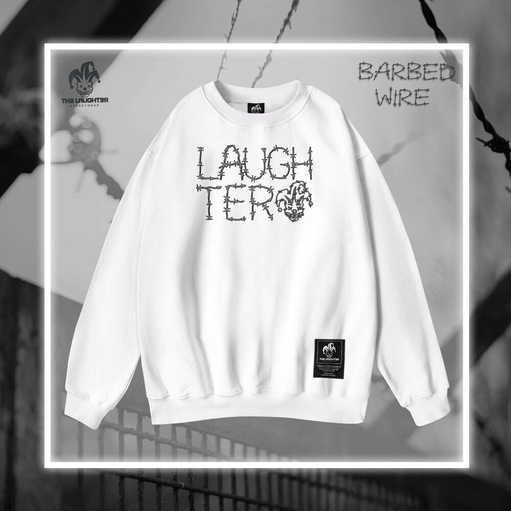 The Laughter - BARBED-WIRE SWEATER