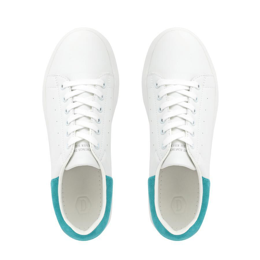 DOMBA HIGH POINT SP (WHITE/OCEAN BLUE SP) H-9020