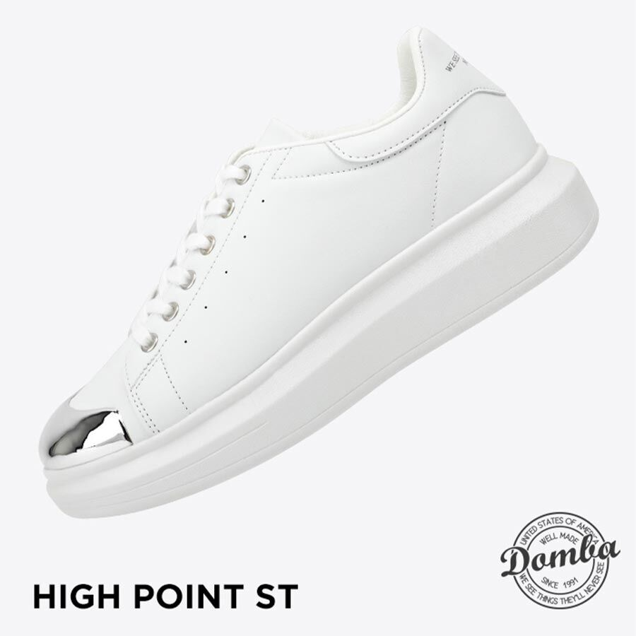 DOMBA HIGH POINT ST (WHITE/STEEL TOE) H-9018