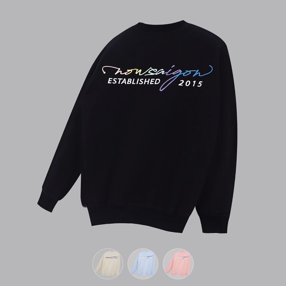 MULTICOLOR EMBROIDERED SWEATER