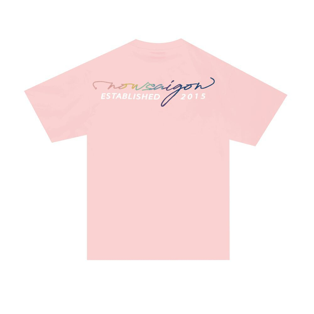 MULTICOLOR EMBROIDERED TEE
