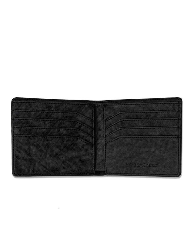 Wallet Leather Silver