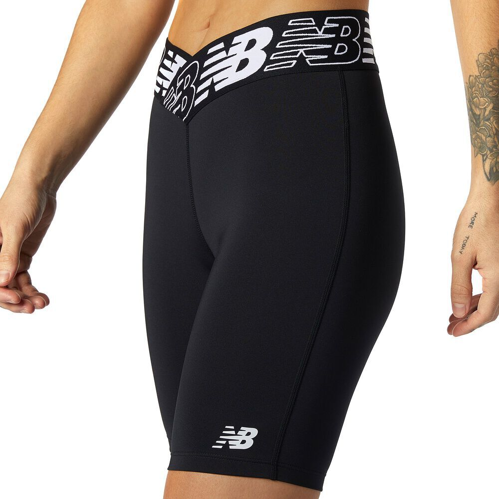 Womens New Balance Relentless 8 inch Fitted Shorts