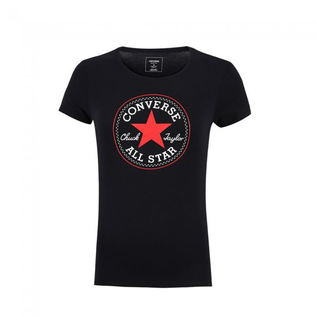 Converse Core Solid Patch Crew Tee
