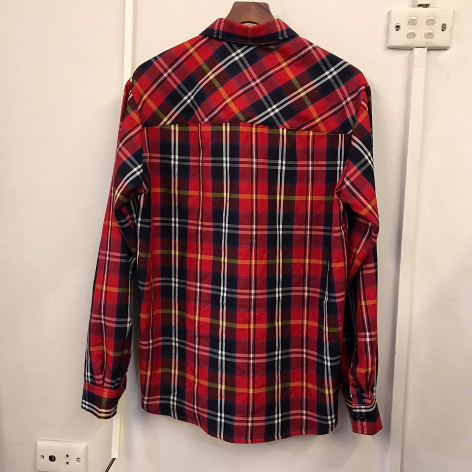 VARSITY RED FLANNEL