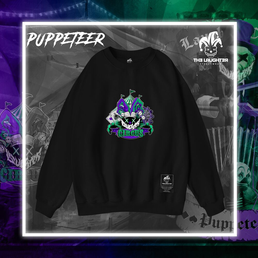 The Laughter - Puppeteer Sweater Black