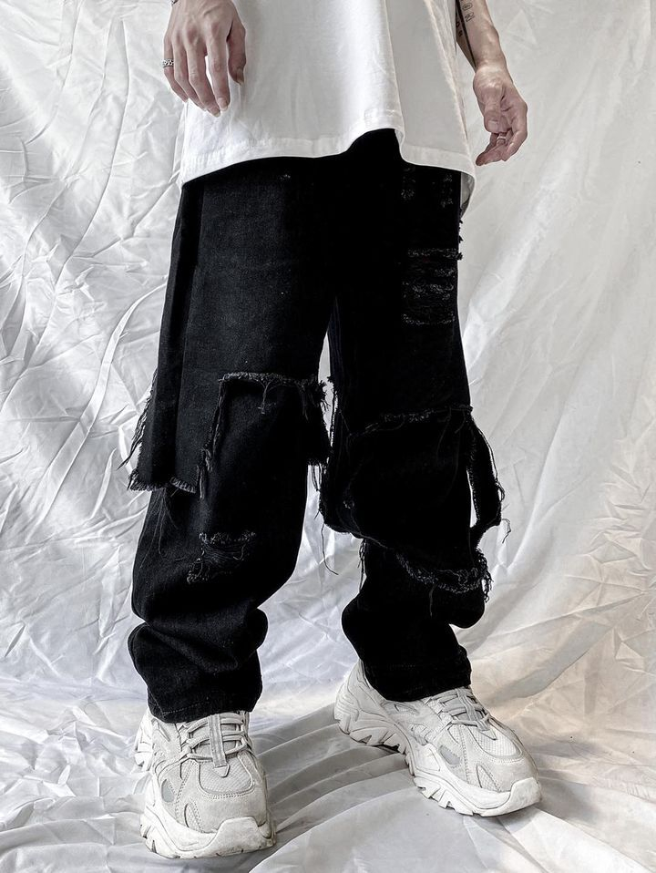 DESTROYED - CULOTTES JEAN