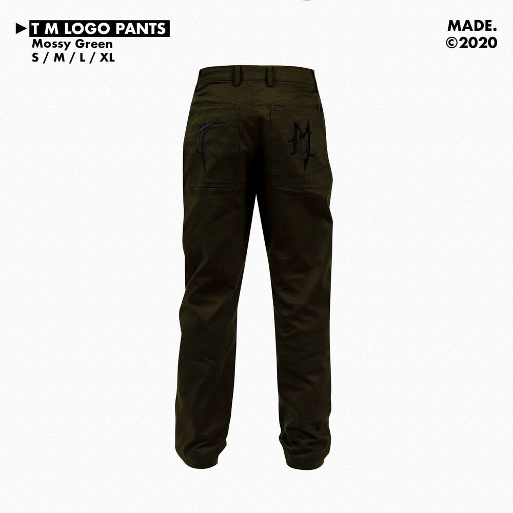 T/M PANTS IN MOSSY GREEN