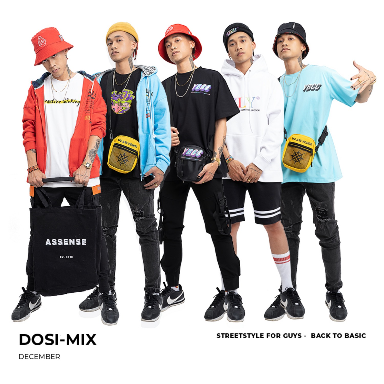 DOSI-MIX - DECEMBER #1 STREET STYLE FOR GUYS - BACK TO BASIC