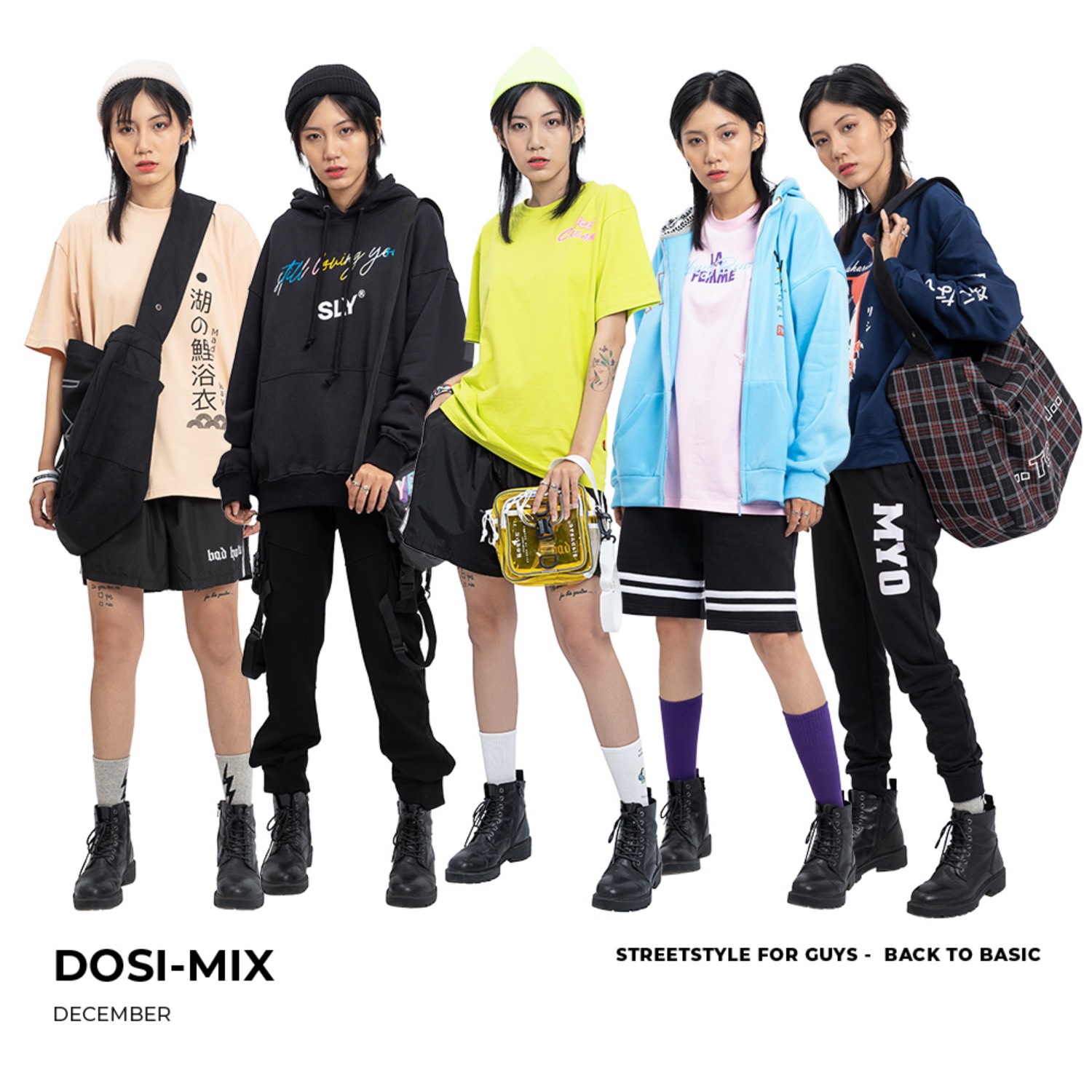 DOSI-MIX - DECEMBER #2 STREET STYLE FOR GUYS - BACK TO BASIC