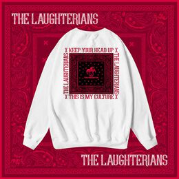 The Laughter - [RED VERSION] LAUGHTERIAN PATTERN Sweater