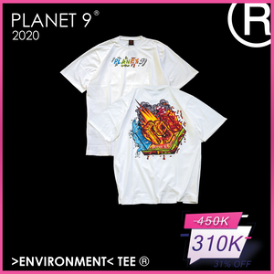 Tee- The Environment Planet 9 Trắng