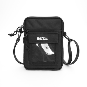 UNSOCIAL SHOULDER BAG