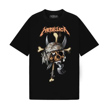 Tee Metallica Pirate Skull