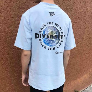 The Earth T-shirt – Baby Blue