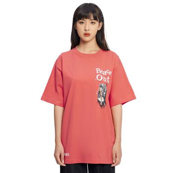 /peace out/ NEW TEE™ - GEOGRIA PEACH