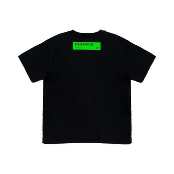 3D POCKET TEE - BLACK