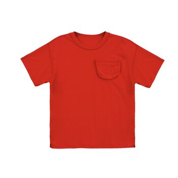 3D POCKET TEE - RED
