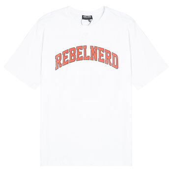 ARCH LOGO TEE WHITE/RED
