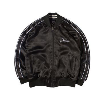 Chillin Basic Double Face Souvenir Jacket
