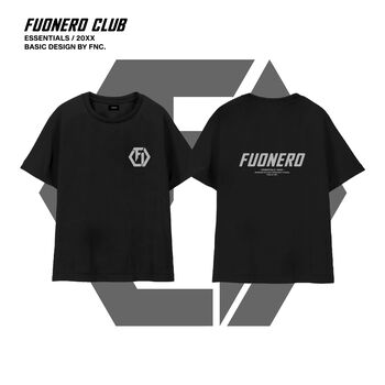 Reflective Logo Tee ( Black )