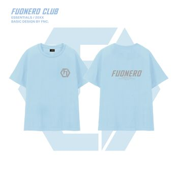 Reflective Logo Tee ( Light Blue )