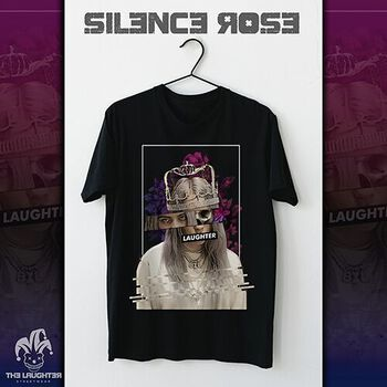 The Laughter - Silence Rose T Shirt