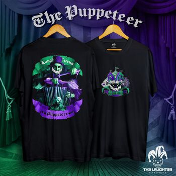 The Laughter - The Puppeteer T-Shirt Black - 100% Cotton