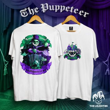 The Laughter - The Puppeteer T-Shirt White - 100% Cotton