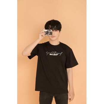 Keep No Label for myself T-shirt - Black