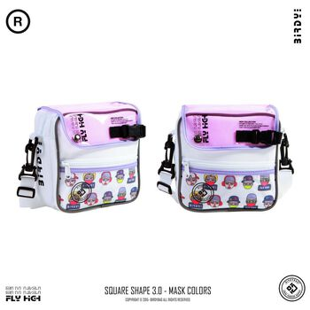 TÚI ĐEO CHÉO BIRDYBAG COUPLE BAG – WHITE