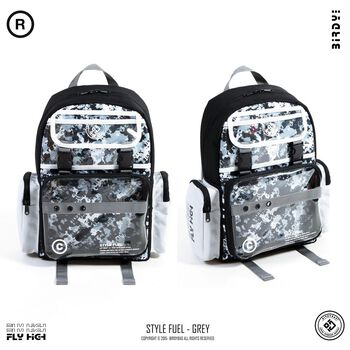 BIRDYBAG STYLE FUEL BACKPACK – mix black