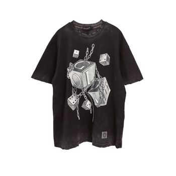 DESTROYED WASHED DICE TSHIRT
