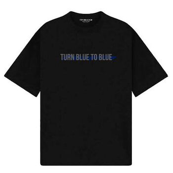 Trying Even - Turn Blue To Blue - Black
