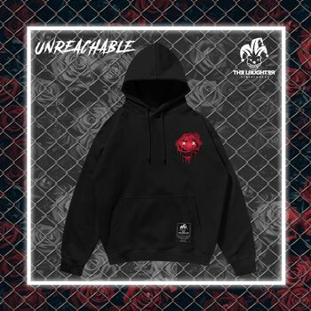 The Laughter -  Unreachable Hoodie Black
