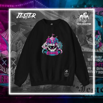 The Laughter - Jester Sweater Black