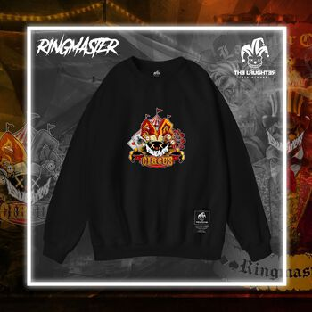The Laughter - Ringmaster Sweater Black