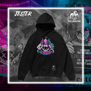The Laughter -  Jester Hoodie Black