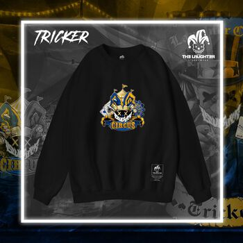 The Laughter -  Tricker Sweater Black